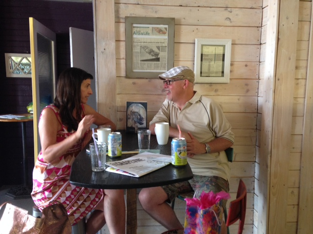 Dinner Out | Christy Ann Conlin and Scott Campbell at Mr. Noodle Guy in Port Williams